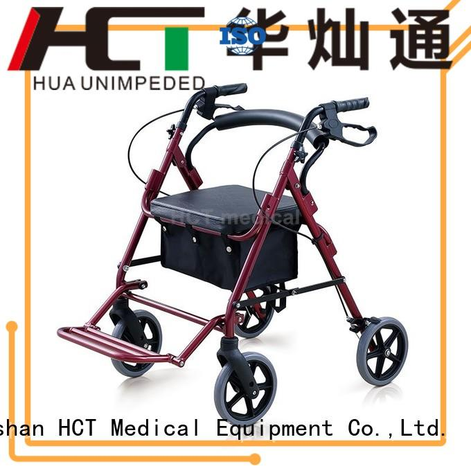 HCT Medical Brand rolling euro aluminum rollator patent supplier