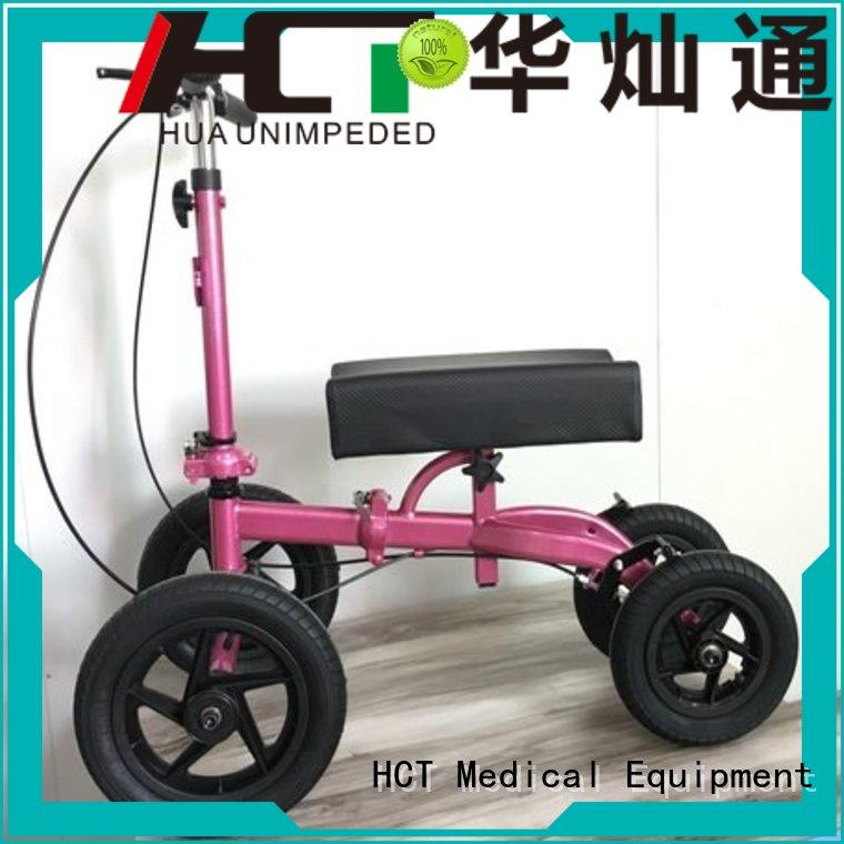 HCT Medical Brand terrain all knee custom ambulate knee walker