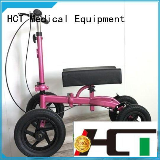 HCT Medical all terrain knee scooter manufacturing for home use